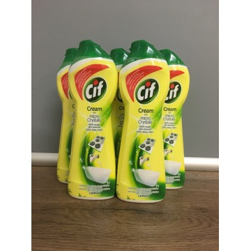 CIF Cream with micro Crystals LEMON 250ml