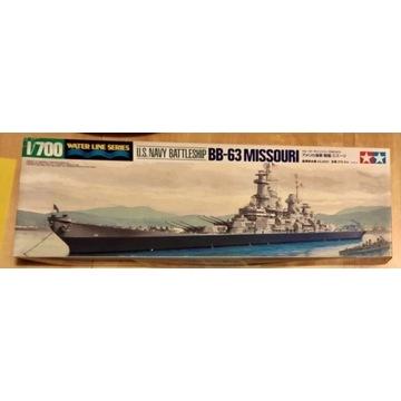Okręt 1/700 BB-63 Missouri
