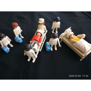 Playmobil - zestaw lekarski
