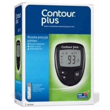 Glukometr Contour Plus + Paski Testowe 50 szt.