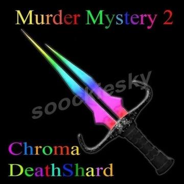 ROBLOX Murder Mystery 2 Chroma DeathShard