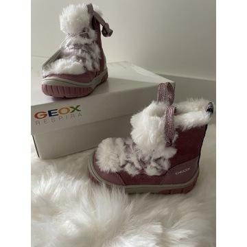 Trzewiki kozaki śniegowce Geox Omar rozm 20 nowe
