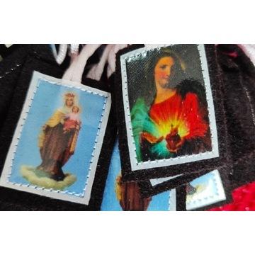 Szkaplerze 10 szt. Matki Bożej Szkaplerznej