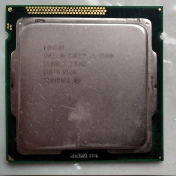Procesor Intel Core i5 2500K