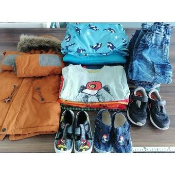 Ubrania dla chłopca110 buty 29,Reserved5 10 15Smyk