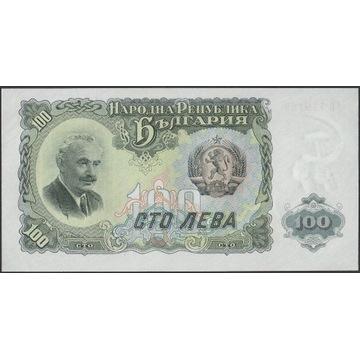 Bułgaria 100 lewa 1951 - stan bankowy UNC