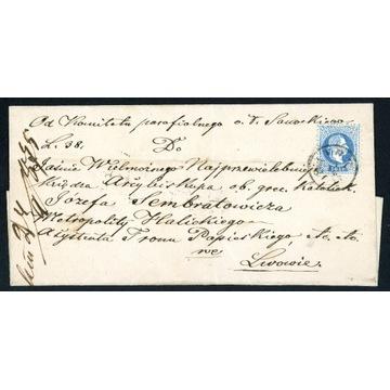 1875 Zabór Austriacki Galicja Sanok