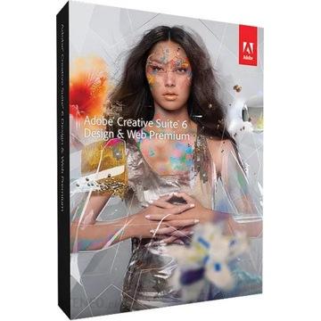 Adobe Design WEB Premium CS6 Win/Mac PL