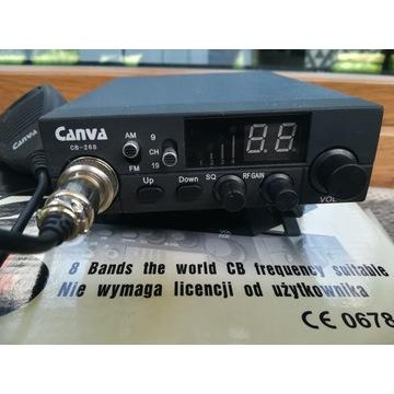 Sprzedam CB-Radio Canva CB-268 z anteną