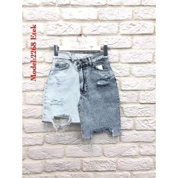 Spódnica jeansowa ala Zarka 36