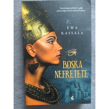 Książka BOSKA NEFRETETE - E. Kassala