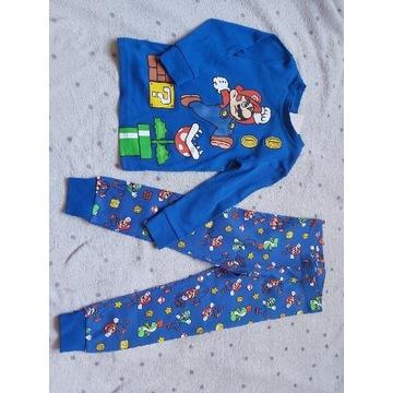 Nowa! 98/104 pidżama chłopięca super Mario hm h&m