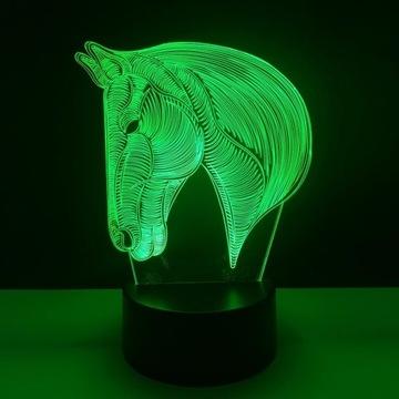 Lampka Led 3D