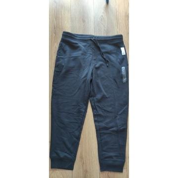 Spodnie dresowe dresy jogger GAP XL czarne  nowe
