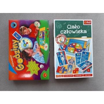 2 gry edukacyjne Godziny Alexander Ciało człowieka