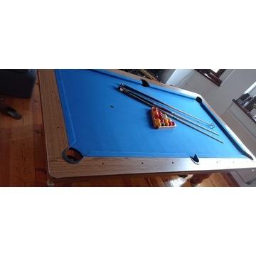 Stół bilardowy pool snooker billard komplet drewno