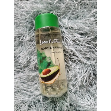 Olejek do ciała i włosów Love Nature z awokado