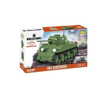 Cobi 3063 Czołg M4 Sherman World of Tanks 1:48