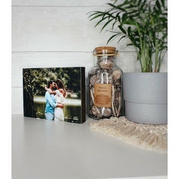 Drewniana deseczka z Twoim zdjęciem