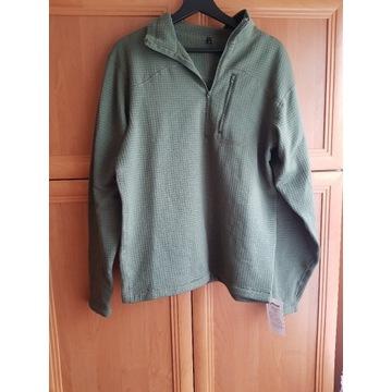 Sweter ocieplacz oliwkowo zielony M