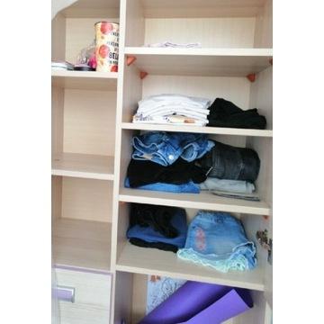 Meble młodzieżowe, szafka, półka, biurko
