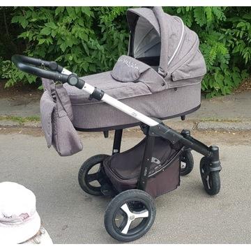 Wózek Baby Design Husky szary 2w1