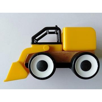 IKEA LILLABO ciężarówki drewniane - spychacz