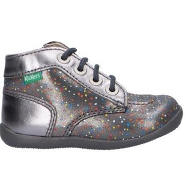 Nowe buty dziecięce botki KicKers r. 26 skóra