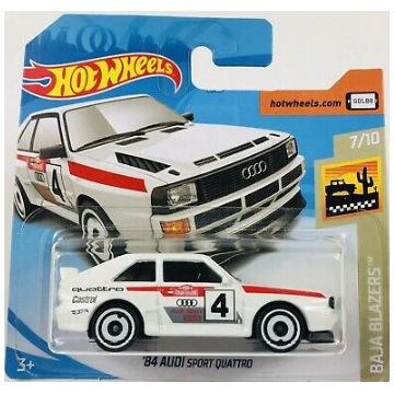 Hot Wheels 84 Audi Sport Quattro