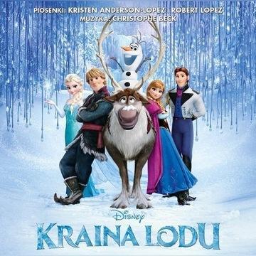CD Kraina lodu (folia)