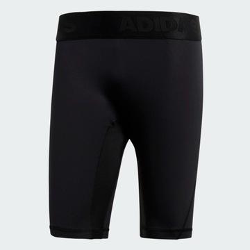 Alphaskin Sport Short Tights, czarne, M