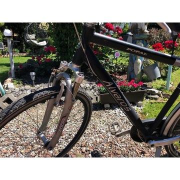 Aluminiowy lekki holenderski rower męski.