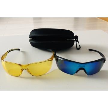 Okulary 4F 2pary przeciwsłoneczne polaryzacyjne