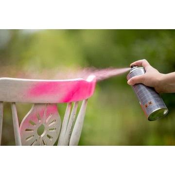 Farba spray w indywidualnym kolorze RAL.