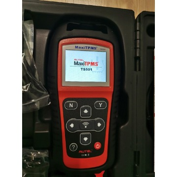 TPMS Autel TS501 PL programowanie czujników kół