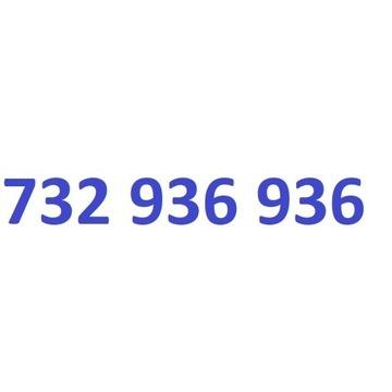 732 936 936 starter play ładny złoty numer