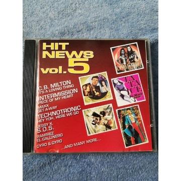 Hit News vol. 5 Snakes Music cd