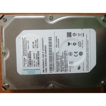 Dysk IBM 500GB 7,2K Sata 3GB