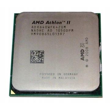 AMD Athlon II X4 640 4x3GHz AM3 AM2+