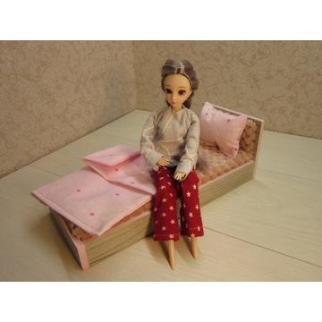 Łóżko dla lalek do 30 cm mebelki dla lalek
