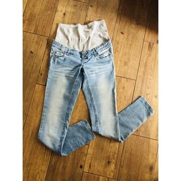 Mamalicious NOWE jeansy ciążowe 28/32 spodnie