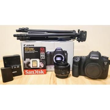 Canon 6D(wifi) Zestaw, jak nowy, 3 tys