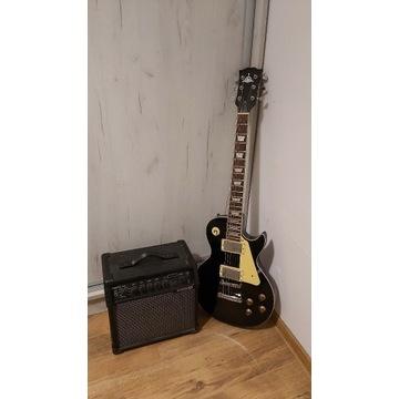 Gitara elektryczna Les Paul + line6 spider v20