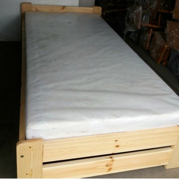 Łóżko 90z200 z materacem
