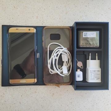 Samsung Galaxy S7 EDGE SM-G935F złoty stan bdb