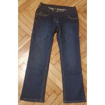 Spodnie ciążowe jeansowe dł.3/4/MOTHERCARE/ r34