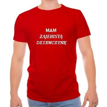 Druk na koszulkach. Męski, żeński. Twój nadruk