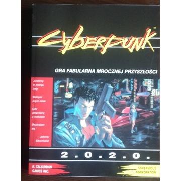 Cyberpunk 2020 gra fabularna RPG podręcznik