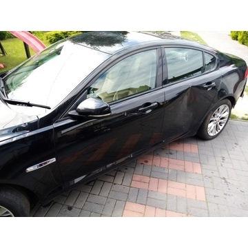 Jaguar xf drzwi przednie czarne