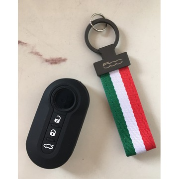 Brelok i etui na kluczyk Fiat 500